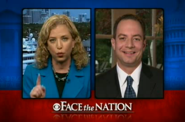 Face the Nation - Debbie Wasserman Schultz and Reince Priebus