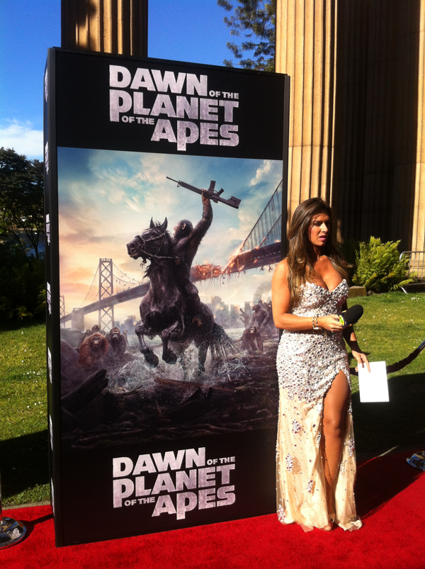 Dawn of the Planet of the Apes Red Carpet
